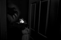 Bedtime Stories. (mattd85) Tags: bedtime story stories children childrenportrait blackandwhite blackandwhiteportrait canon6d canon 1740f4l mystery ghost