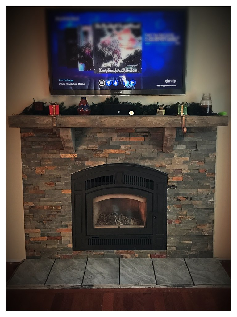 RSF Pearl Wood Burning Fireplace. Chattanooga, Tn.