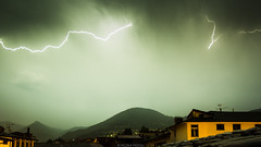 07062015-IMG_0579 (Nicola Pezzoli) Tags: light italy mountain storm clouds montagne canon nuvole glow atmosphere natura val leffe lightning bergamo pioggia thunder tempesta fulmini 600d bagliore gandino peia
