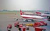 TWA 707 Approaching the Gate (craigsanders429) Tags: stlouis twa boeing707 lambertfield lambertstlouisinternationalairport transworldairlines lambertstlouisairport twa707 twajets