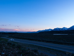 Exploring Grand Teton (Kenny Hindgren) Tags: road park blue sunset usa mountain mountains car evening dusk grand roadtrip national hour teton kenny 2015 hindgren jacksontillneworleans