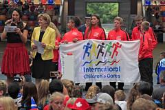 ICG Sluitingsceremonie tag Gerda Reus