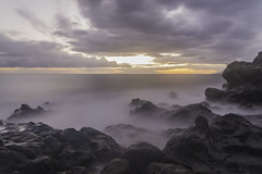 Hawaii Sunset - Wailea Beach (LukeCrawford) Tags: ocean sunset mist sunrise hawaii pacificocean wailea waileabeach explorehawaii oceansunrise
