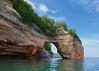 Pictured Rocks - Lovers' Leap / Petit Portal (daveumich) Tags: michigan upperpeninsula picturedrocksnationallakeshore