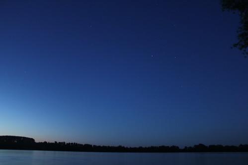 Danube and stars