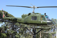 A2-1022 BELL UH-1B IROQUOIS RAAF (QFA744) Tags: bell iroquois uh1b a21022