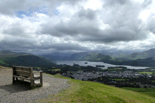Bench near the summit of Latrigg by Bods, on Flickr