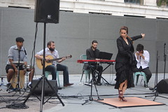 Ida y Vuelta Ensemble (2015) 01 (KM's Live Music shots) Tags: italy spain tango worldmusic flamenco thegherkin cityoflondonfestival idayvueltaensemble