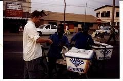 Fan Milk icecream salesmen