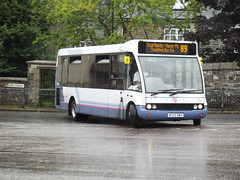 50291 - First Devon & Cornwall Tavistock July 2015 (Dave Growns) Tags: uk southwest bus buses devon solo publictransport tavistock 89 fdc optare firstgroup lowfloor optaresolo firstdevoncornwall 50291 firstdevon w322dwx firstdevoncornwallsomerset tavistockbusstation