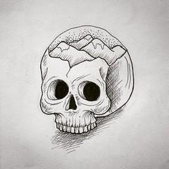Caveirinha (MariDagli) Tags: flash caveira skulltattoo caveirinha skullflash tattoodecaveira flashdecaveira