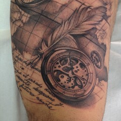 The World S Newest Photos Of Clock And Tattoo Flickr