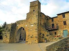 Montichiello Il Borgo, The ancient village (michele masiero) Tags: italia siena toscana valdorcia borghi montichiello fotosketcher ilborgodimontichiello