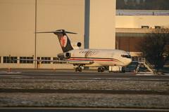 C-FCJZ Cargojet B727-200F (Vernon Harvey) Tags: cfcjz boeing 727 cargojet vancouver yvr