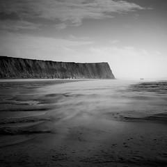 Tempête de sable (Geoffroy Hauwen) Tags: canon 28mm landscape bw tempete sable mer sea cap blackwhite