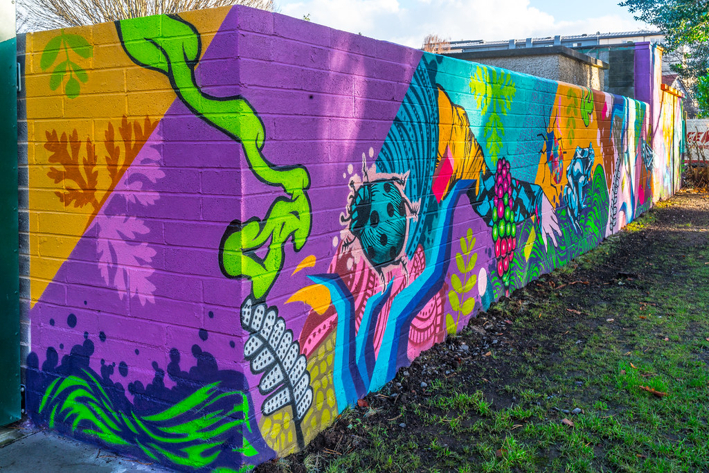 NEW STREET ART AND NEW TEAROOMS [HERBERT PARK DUBLIN]-124046