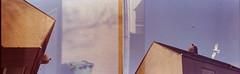 The Birds (7) (Mrs.Black&White) Tags: praktica ltl3 expired35mmfilm fujifilm superia xtra 400iso doubleexposure seagulls birds flying flight handprocessed tetenal c41process selfprocessed
