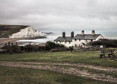 seven_sisters_country_park (A & A McKee) Tags: nikon d7200 sigma 1750 28 seven sisters country park sea cliff beach house cloudy landscape england uk winter absolutelystunningscapes