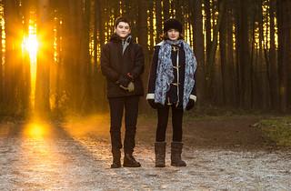 James & Amélie - Blidworth Woods - 28-12-2016