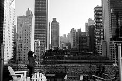 Lady M and the Big Apple (Leguman vs the Blender) Tags: nyc newyork midtown manhattan nikond90 usa bw