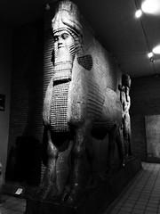 Assyrian guards (Michal Kuban) Tags: assyrian guards london