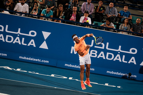 "Rafael Nadal's Service • <a style=""font-size:0.8em;"" href=""http://www.flickr.com/photos/125636673@N08/31873262641/"" target=""_blank"">View on Flickr</a>"