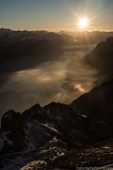 Brienzer Rothorn Sunset (Fabio Stoll) Tags: brienzer rothorn sunset sony alpha 99 1224mm sigma alpen alps hiver golden hour outdoor landschaft abhang switzerland swissmountains brienzersee interlaken