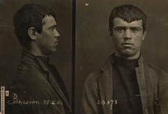 Mugshot (Midnight Believer) Tags: mugshot crime vice prisoner inmate jail jailed retro arrested arrest