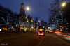Coolsingel (Janslb) Tags: rotterdam coolsingel stadhuis townhall cityhall tram trees lights lighttraces bluehour nikon nikond7000 ©allrightsreserved city geotagged