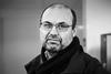 Serdar 2017-01-03 (Michael Erhardsson) Tags: sj personal porträtt svartvitt på jobbet 2017