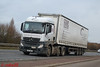 Mercedes Benz Actros MP4 'Augean' reg DK13 WNJ (erfmike51) Tags: mercedesbenzactrosmp4 artic truck euro6 curtainside lorry augean