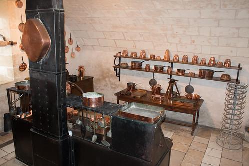 Cuisine du Château de Chenonceau