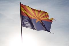 Arizona (mfeingol) Tags: arizona navajo monumentvalley navajotribalpark flag
