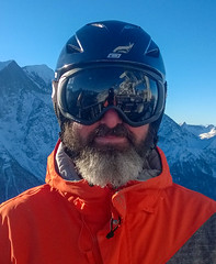 Mountain Man (Andy.Gocher) Tags: andygocher nokia lumia 925 europe france chamonix alps brévent mountblanc