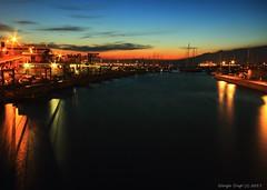 Marina (- Crupi Giorgio (official)) Tags: italy liguria genova marina port sunset seascape sea sky light reflection landscape canon canoneos7d sigma sigma1020mm