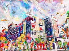 Happy house art (Urban Swenning) Tags: artmuseum art artist painting drawing artwork paint instaart arte sketch creative illustration artcollector draw contemporaryart artoftheday watercolor urbii ink color artgallery design colour acrylic contemporary colorful pencil artistic drawings