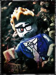 Zombie (LegoKlyph) Tags: lego custom zombie monster dirt undead corps walkingdead rot spooky grave necro dead