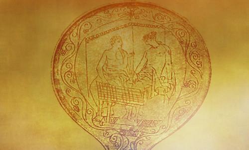 "Petteia - Ludus Latrunculorum  / Iconografía de las civilizaciones helenolatinas • <a style=""font-size:0.8em;"" href=""http://www.flickr.com/photos/30735181@N00/32522186385/"" target=""_blank"">View on Flickr</a>"