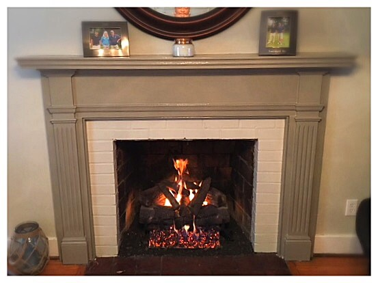 Heatmaster Cherry Wood Gas Logs. Chattanooga, Tn.