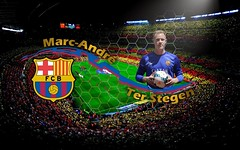 Marc Andre ter Stegen FC Barcelona Goal Keeper (StylishHDwallpapers) Tags: barcelona sports football goal barca soccer andre spanish german marc fc keeper ter stegen footballers