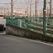 Road along Elevated Part of Saginuma Rail Yard