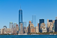Lower Manhattan (SamuelWalters74) Tags: newyorkcity newyork unitedstates manhattan worldtradecenter financialdistrict batteryparkcity worldfinancialcenter nycskyline newyorkharbor 7worldtradecenter freedomtower 1worldtradecenter 1wtc brookfieldplace oneworldtradecenter 4worldtradecenter