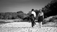 Together. We. Walk. (Christian Rohweder) Tags: portrait bw beach strand couple paar sw eckernfrde schleswigholstein