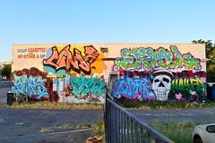 Discount Cigarettes & 98 Store & Up (rickele) Tags: graffiti mural graf sacramento minimart southsacramento southsac franklinblvd discountcigarettes