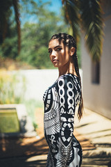 Egyptian Pharaoh (NatVon Photography) Tags: sexy girl fashion hair princess makeup sanjose style egyptian braids cleopatra killstar natvon deuxluxe vulturedress brookehaag