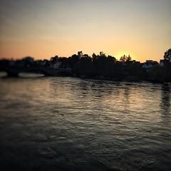 "#summer #sunset #rhein   #rheinfelden #switzerland #CH   #river #nature #calm   #world #travel #colours #orange #blue #green (""guerrilla"" strategy) Tags: world travel blue sunset summer orange green nature river switzerland colours calm rhein ch   rheinfelden instagram ifttt"