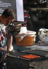 Fan for Kebabs (saish746) Tags: road street food india green chicken girl festival skull town milk russell market beef indian muslim islam russel bangalore eid johnson cook mosque cap local samosa mm ramadan month kebab seller kababs mutton ka skewer hara frazer karim nagar unbelievable doner kareem kebabs shivaji mubarak kabab 2015 ramzan sambusa shivajinagar bhara gosht naqab seekh 2013 patther patthar khansama firni ramadaan hijr  ramaazan