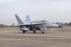HN-411 & HN-424 (Jaapio) Tags: finnish airforce fairford riat f18c egva