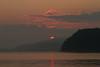 Sunset at Lake Yamanaka (yamanaito) Tags: flickr 夕陽 太陽 夕暮れ 風景 夕焼け 山中湖 霞 茜色 淡い