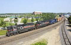 WAPO/379 Rounding the Curve (dcarpine) Tags: river portland am maine rail system parkway pan engineer freight westbound fore conductor guilford